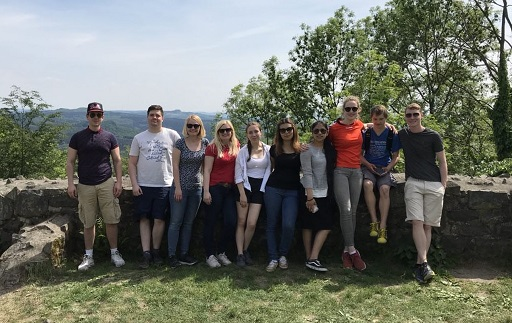 Mentoring2gether: Wanderung ins Siebengebirge zur Löwenburg
