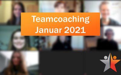Teamcoaching Januar 2021